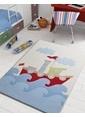 Confetti Baby Shıp 100X150 Mavi Oymalı Renkli